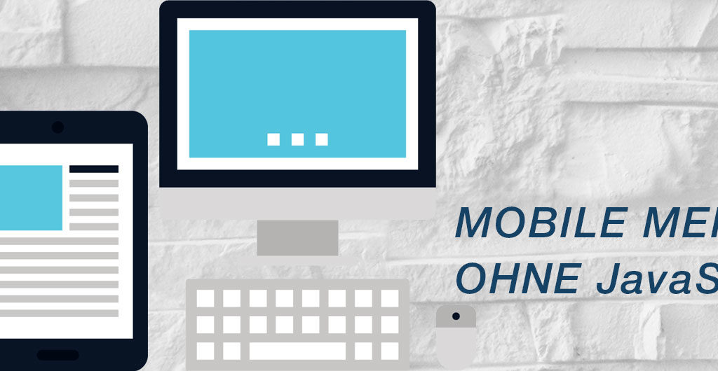 Mobile Menü ohne JavaScript