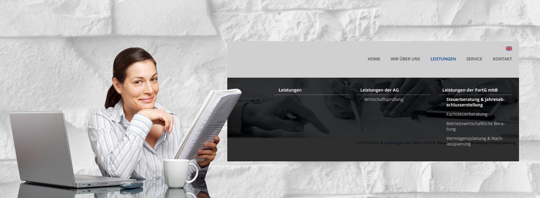 Touchpad Menü mit TYPO3 realisieren