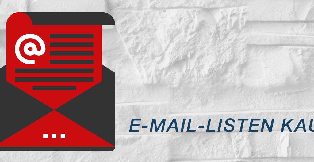 E-Mail-Listen kaufen - ist das sinnvoll?