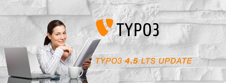 TYPO3 Update 4.5 LTS