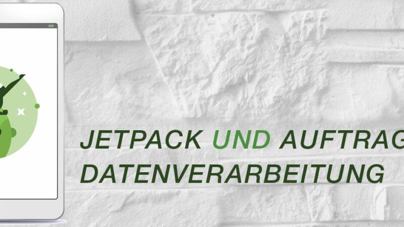 Jetpack und Datenschutzgrundverordnung