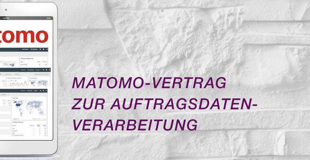 Matomo Vertrag zur Auftragsdatenverarbeitung