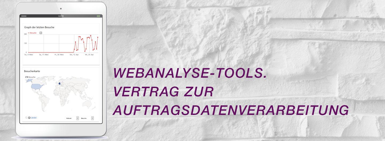Webanalyse-Tools und Auftragsdatenverarbeitung