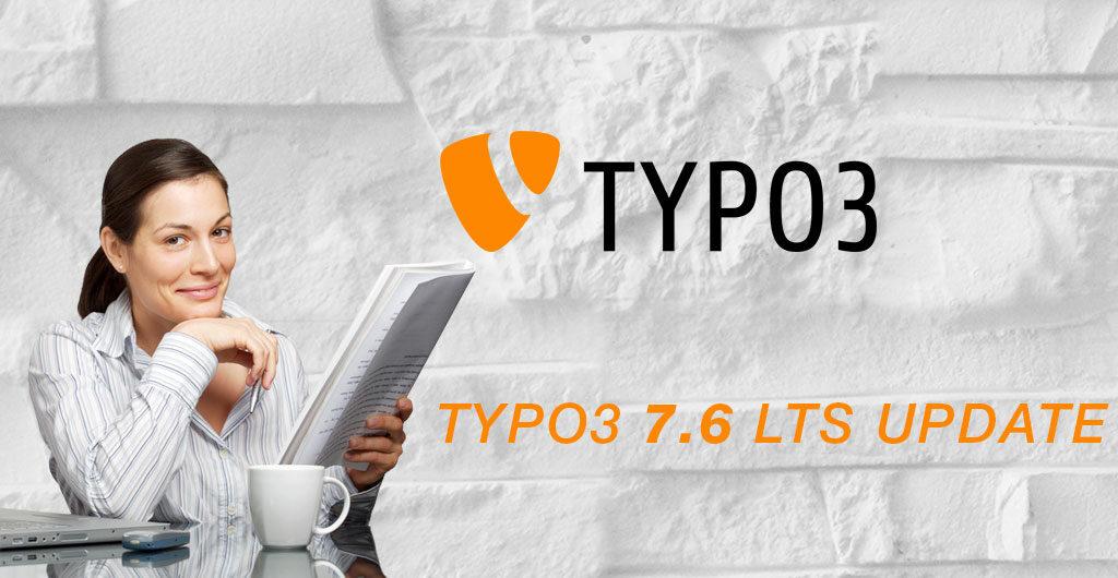 TYPO3 Update auf Version 8