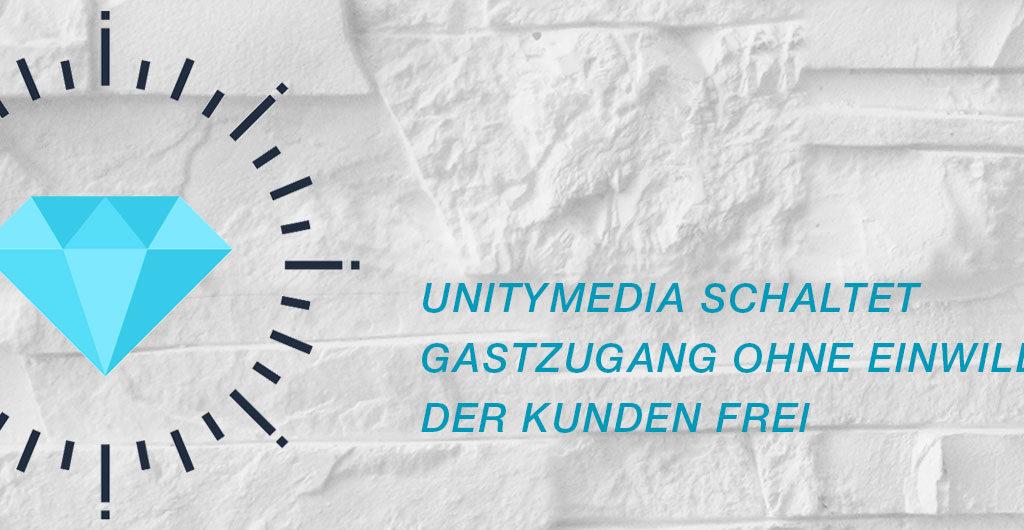 Unitymedia schaltet einen Gastzugang frei ohne seine Kunden zu fragen